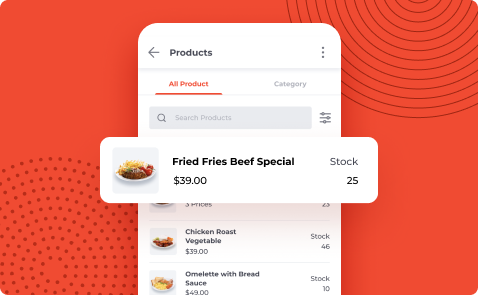 Manage Your Stock & Product Easily