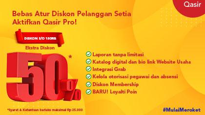 Qasir Pro Diskon Membership (Pro)