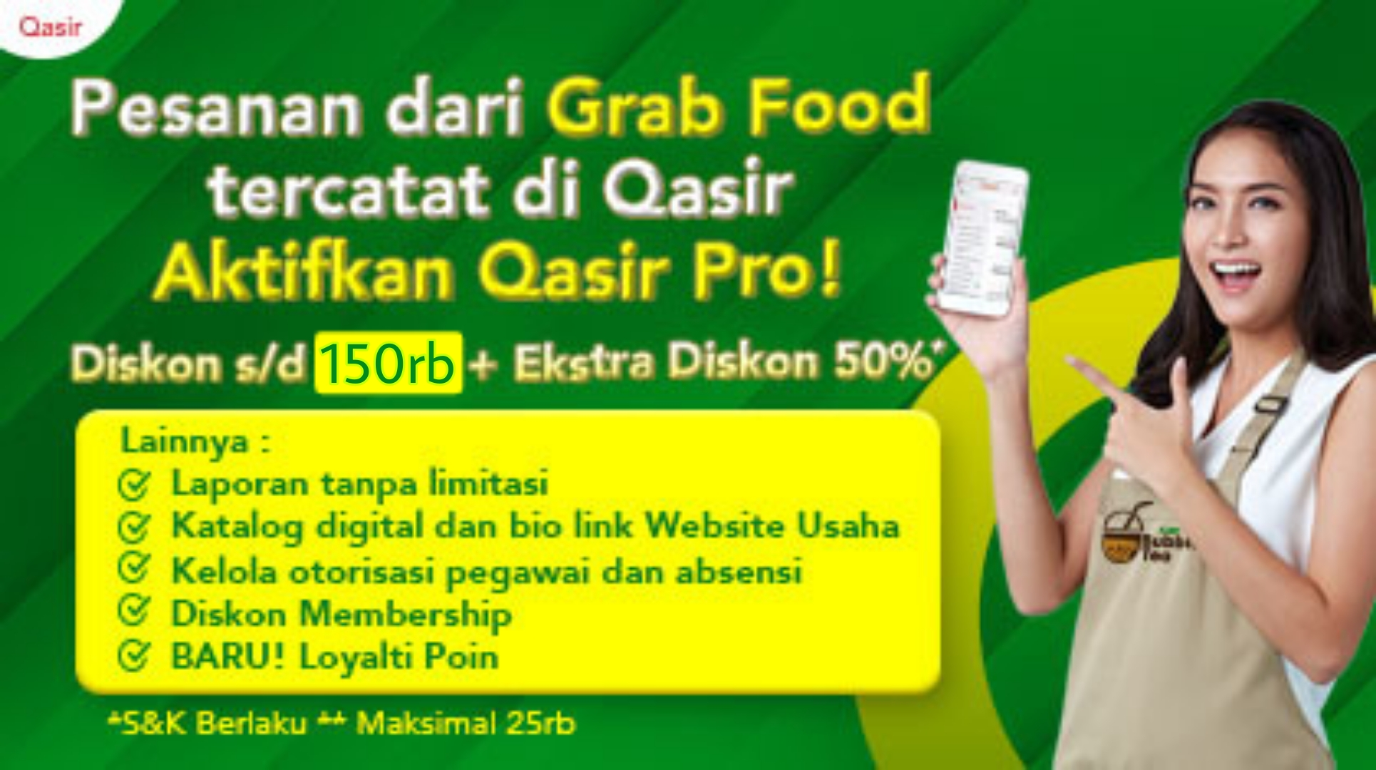 Qasir Pro Grab (Pro)