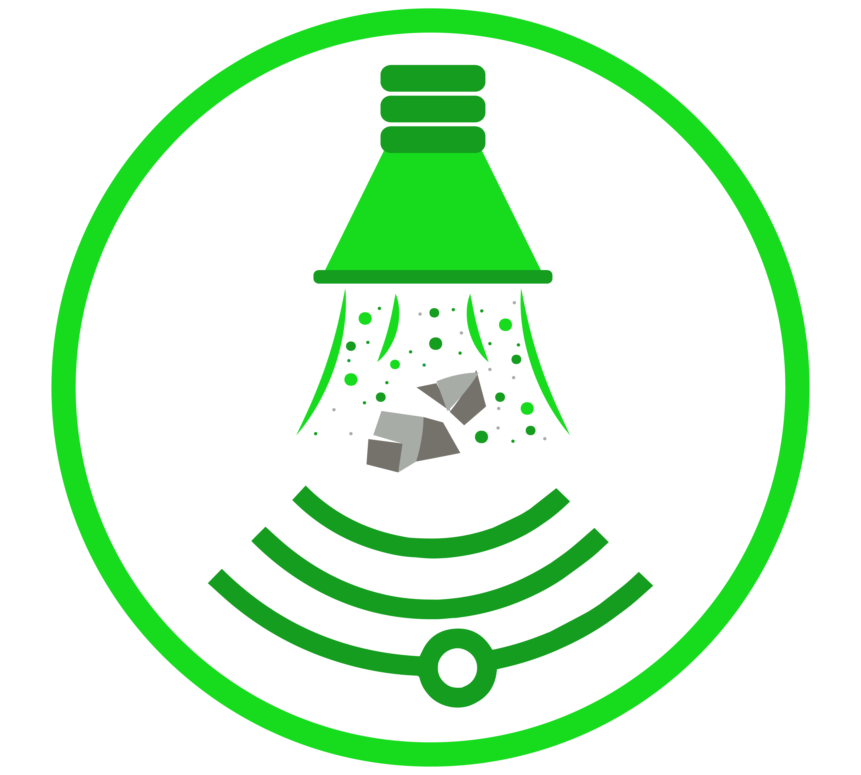 vacuum excavation air and hydro service icon