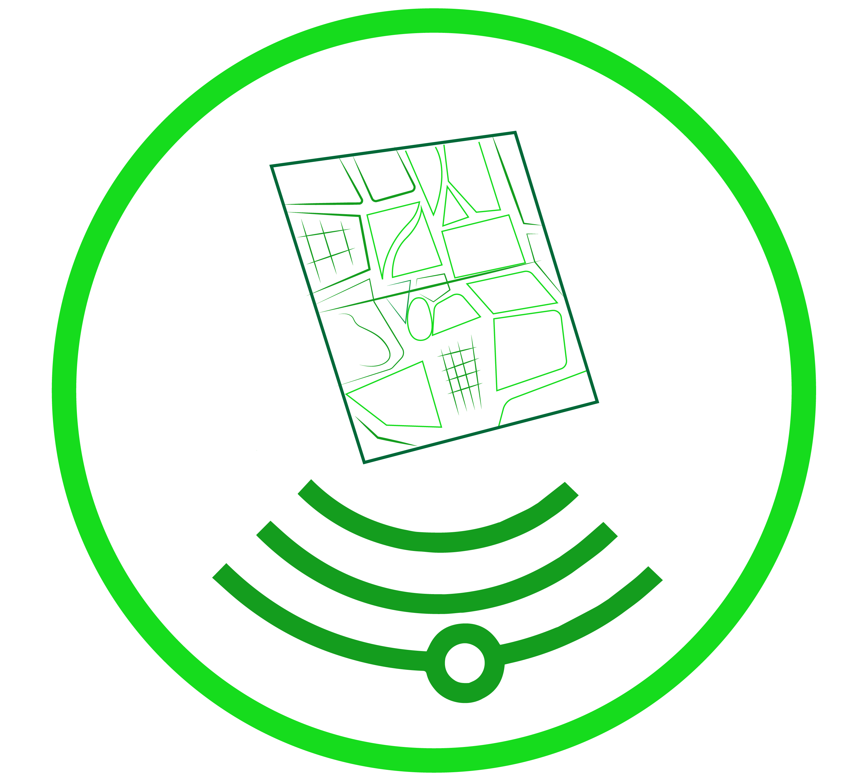 autoCAD or CAD mapping utility mapping service icon