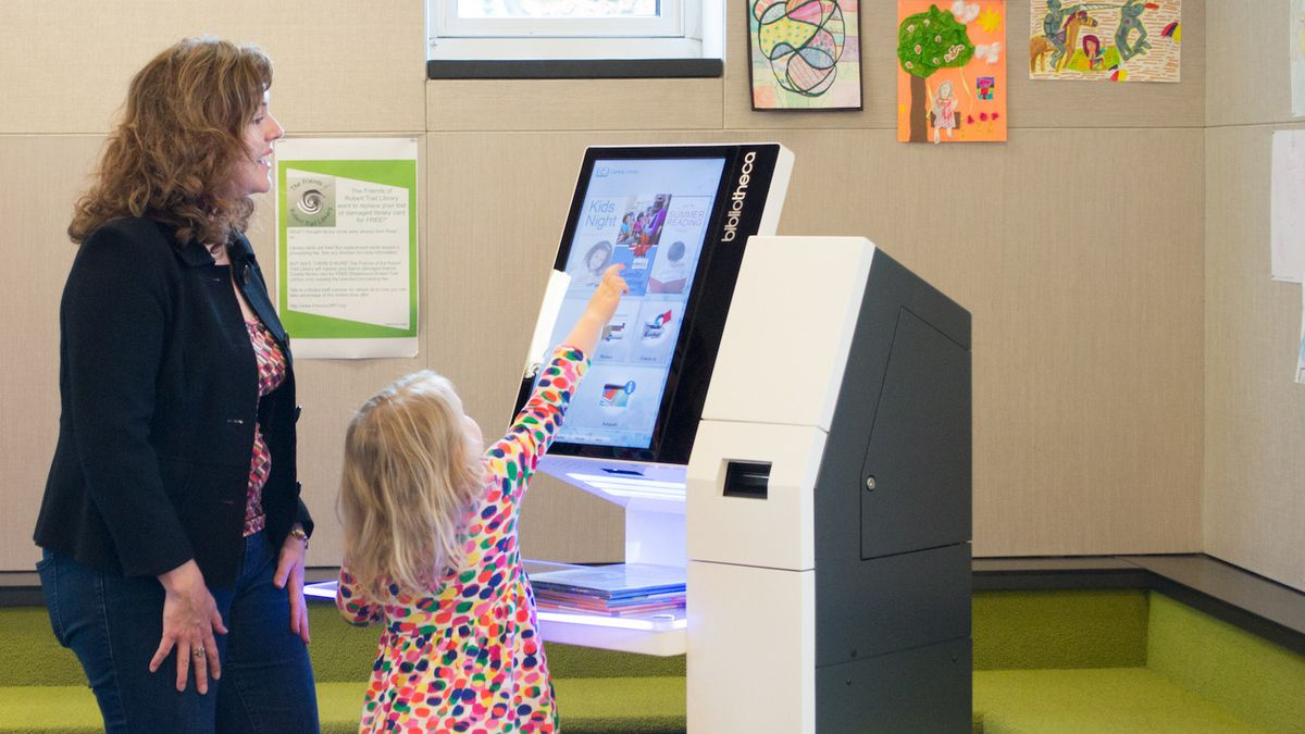 Self-checkout kiosks installed in all San Diego libraries - The Morning Call