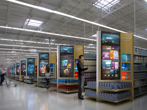 Future of store aisles