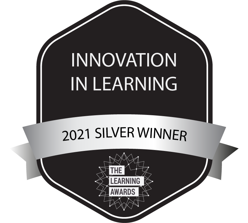 innovation in learning - 2021 silver winner - the learning awards