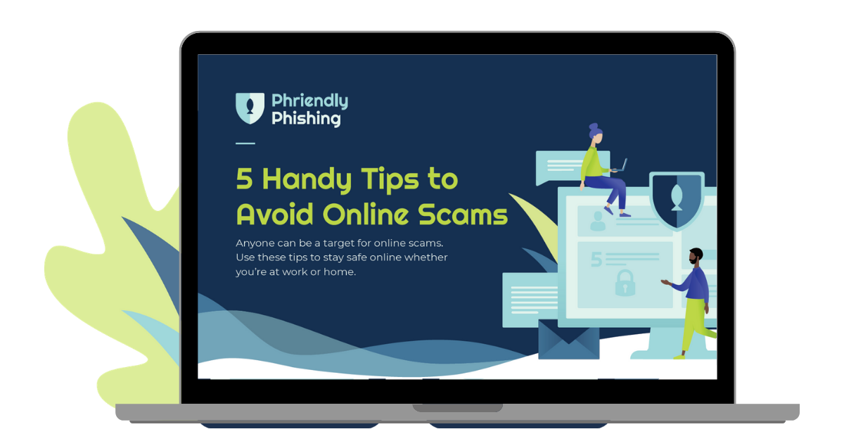 Preview of the 5 Handy Tips to Avoid Online Scams eBook