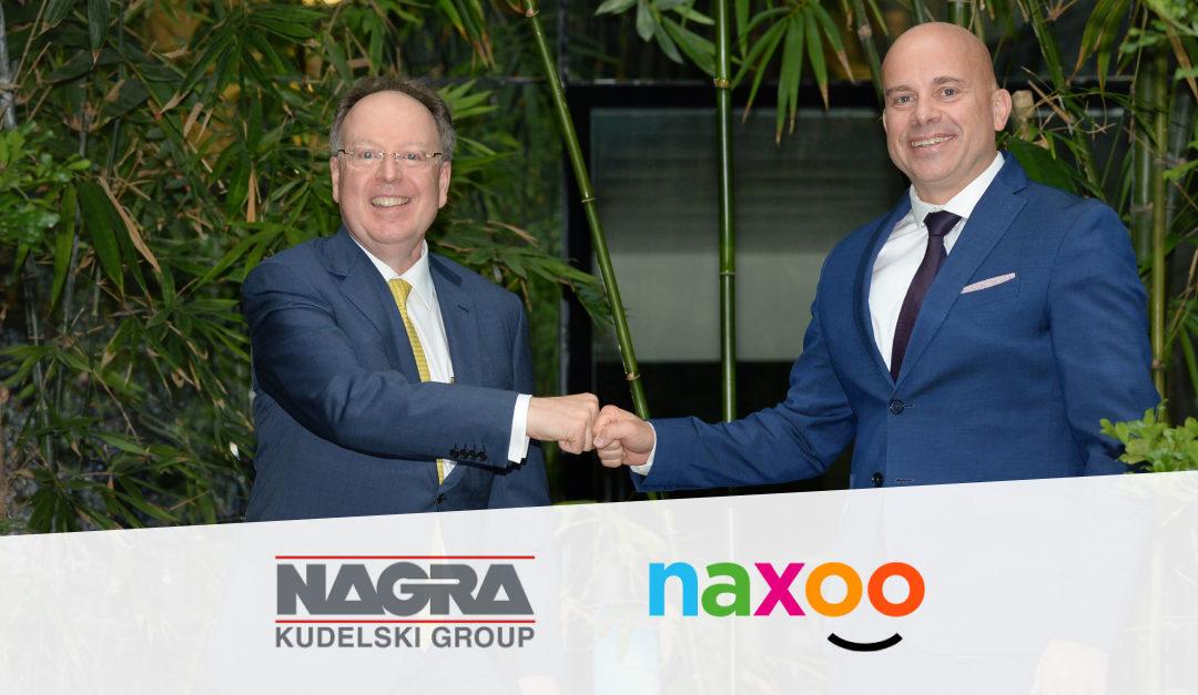 Kudelski and naxoo Extend Long-Standing Media Security Partnership to Protect naxoo's LoRaWAN IoT Network