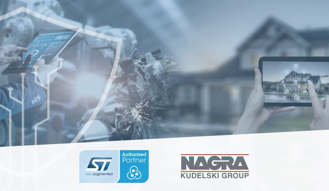 Kudelski Group Works With STMicroelectronics to Bring End-to-End IoT Security to Consumer and Industrial IoT Customers
