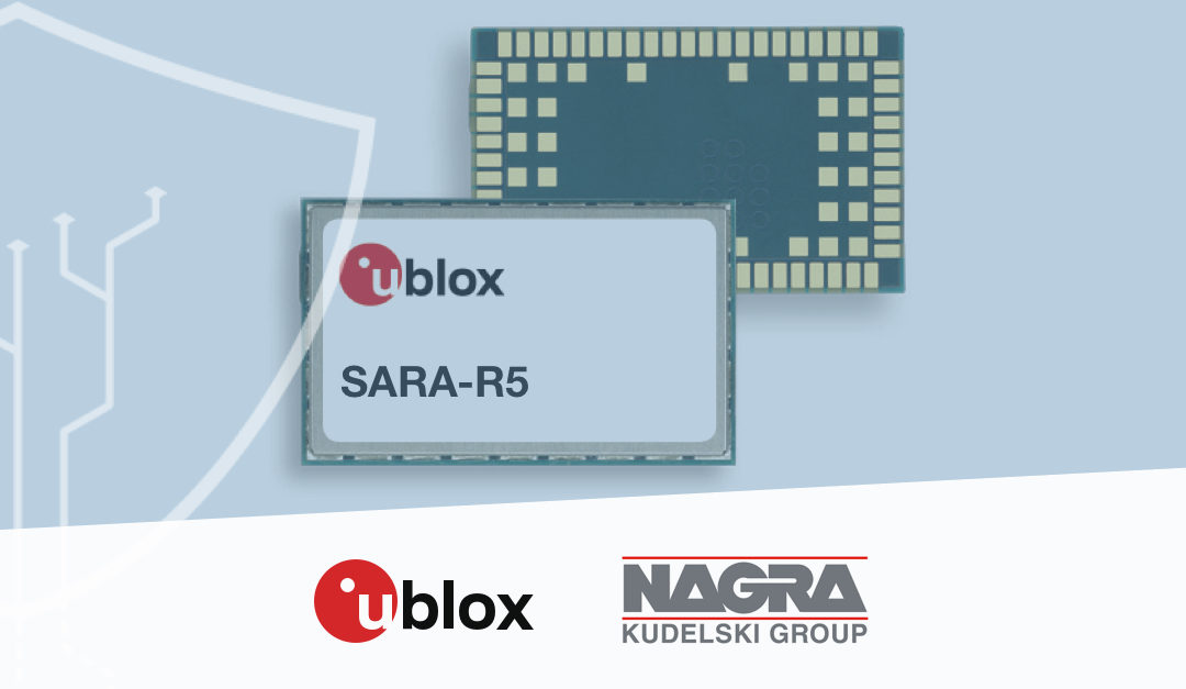u-blox raises the bar with 5G-ready cellular module and chipset for low power wide area IoT applications