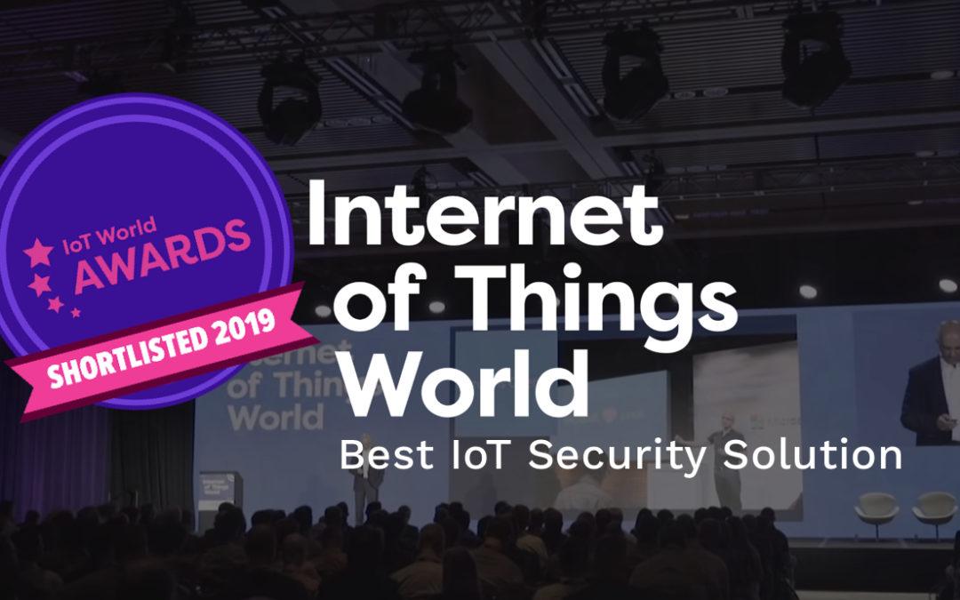 Kudelski IoT Platform Shortlisted for IoT World Awards