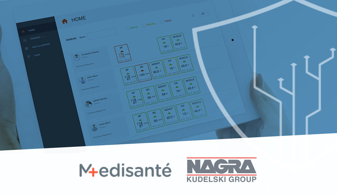 Medisanté and Kudelski Group Sign Agreement to Bring Enterprise-Grade Security to Remote Patient Monitoring