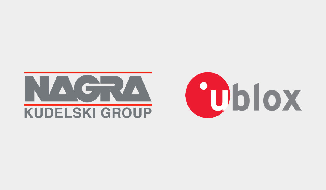 Kudelski Group and u-blox to collaborate on secure connectivity for consumer, automotive and industrial IoT