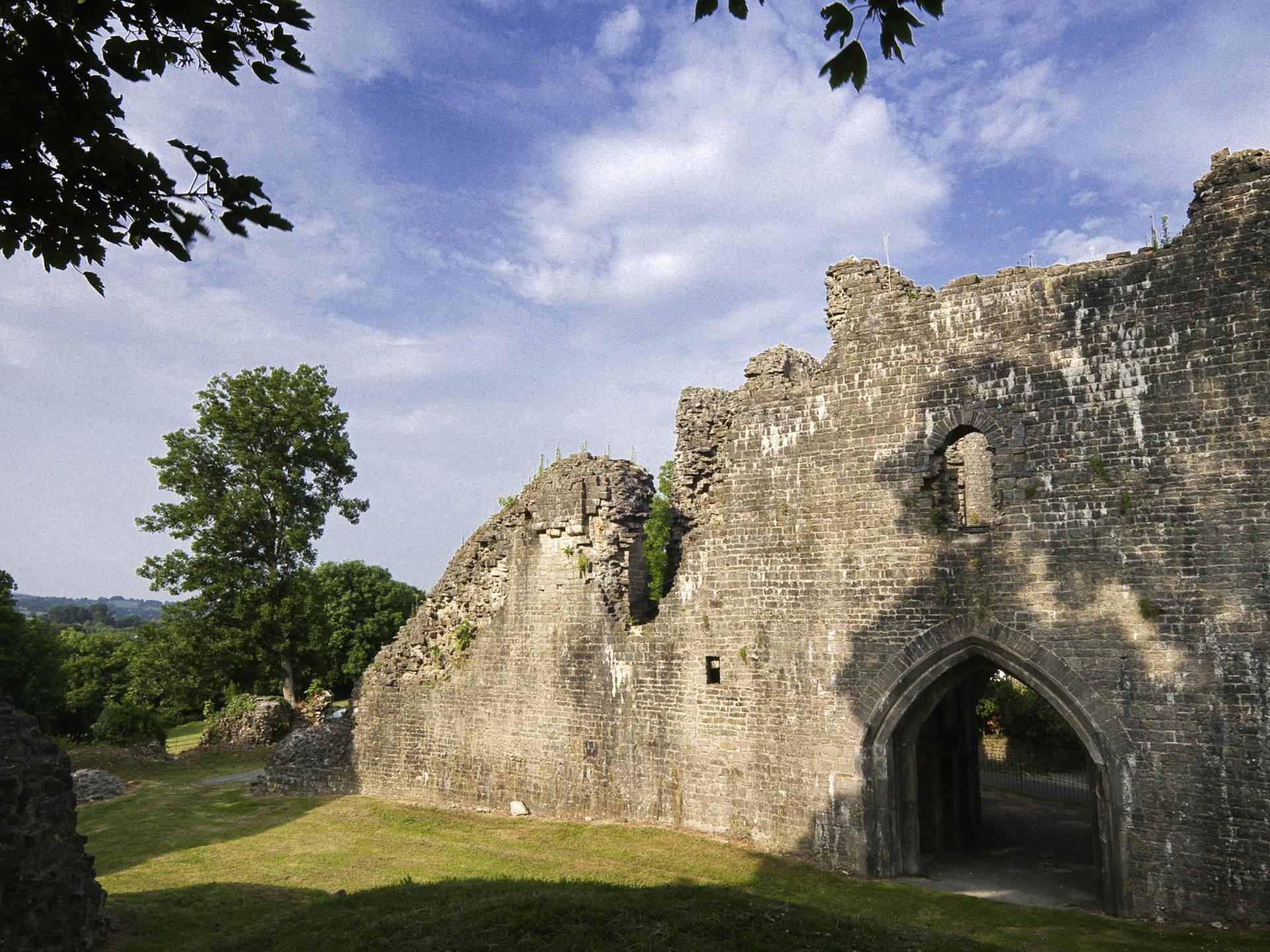 St Quentin's Castle, Llanblethian (Cadw)