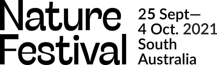 Nature Festival 2020 Logo - 25 Sept to 4th Oct 2021. South Australia.