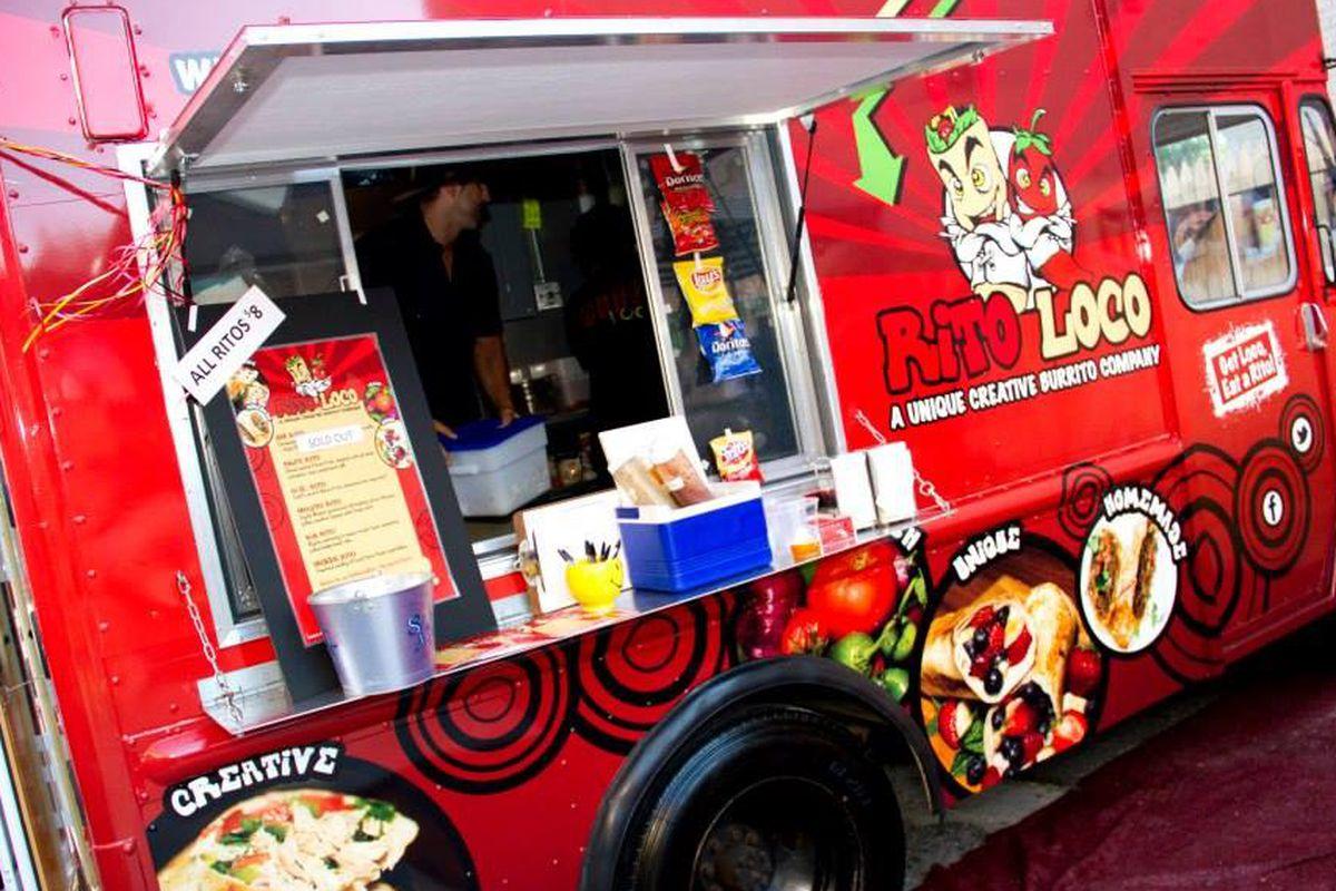 Rito Loco Taco Truck serving Tacos, Burritos, Quesadillas, and Drinks in DC.