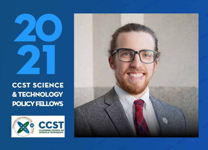 Alistair Hayden (PhD '20) Named 2021 CCST Science Fellow