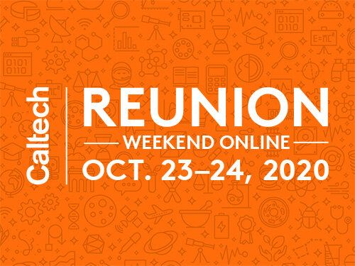 Register for 2020 Reunion Weekend Online, Oct. 23–24