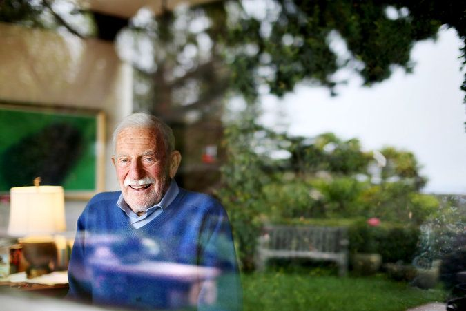 Walter Munk (BS '39, MS'40) Profiled in NY Times