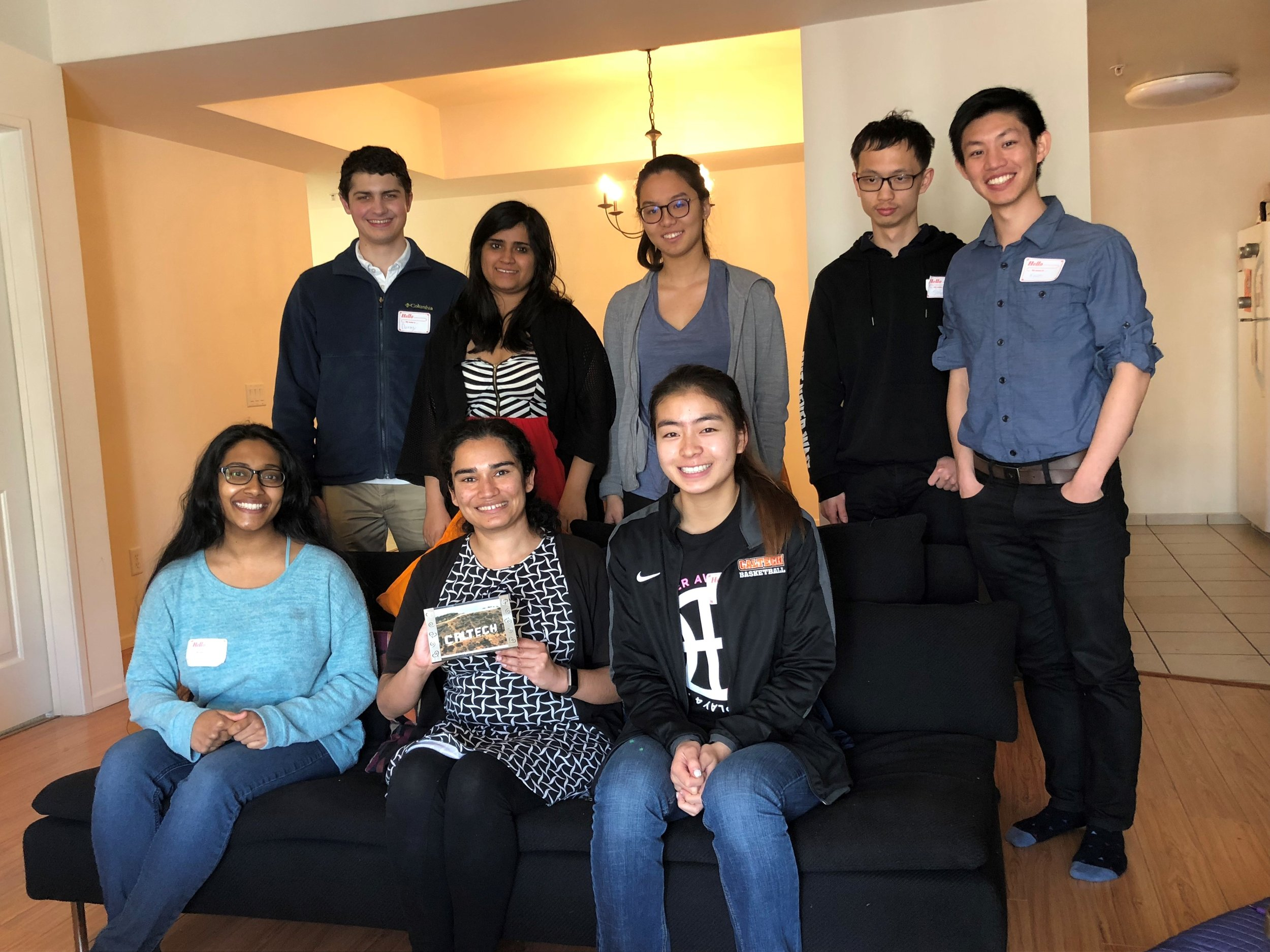 Thank you, Maryam Ali (BS '05), for hosting 8 students for lunch on Saturday, Feb. 10th!