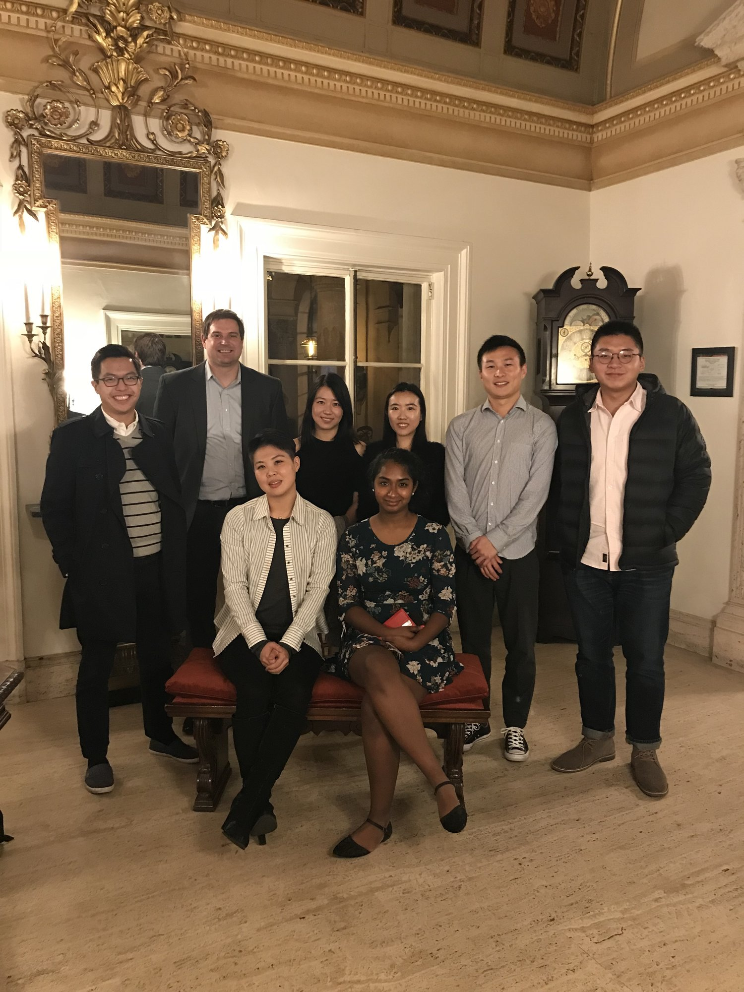 """Anthony Chong (BS '10) hosted 6 student students for a conversation over dinner about #LifeAfterCaltech. Thank you, Anthony for being one of the first #CaltechAlumni hosts of the CAA's """"Dinner with Techers"""" program!"""