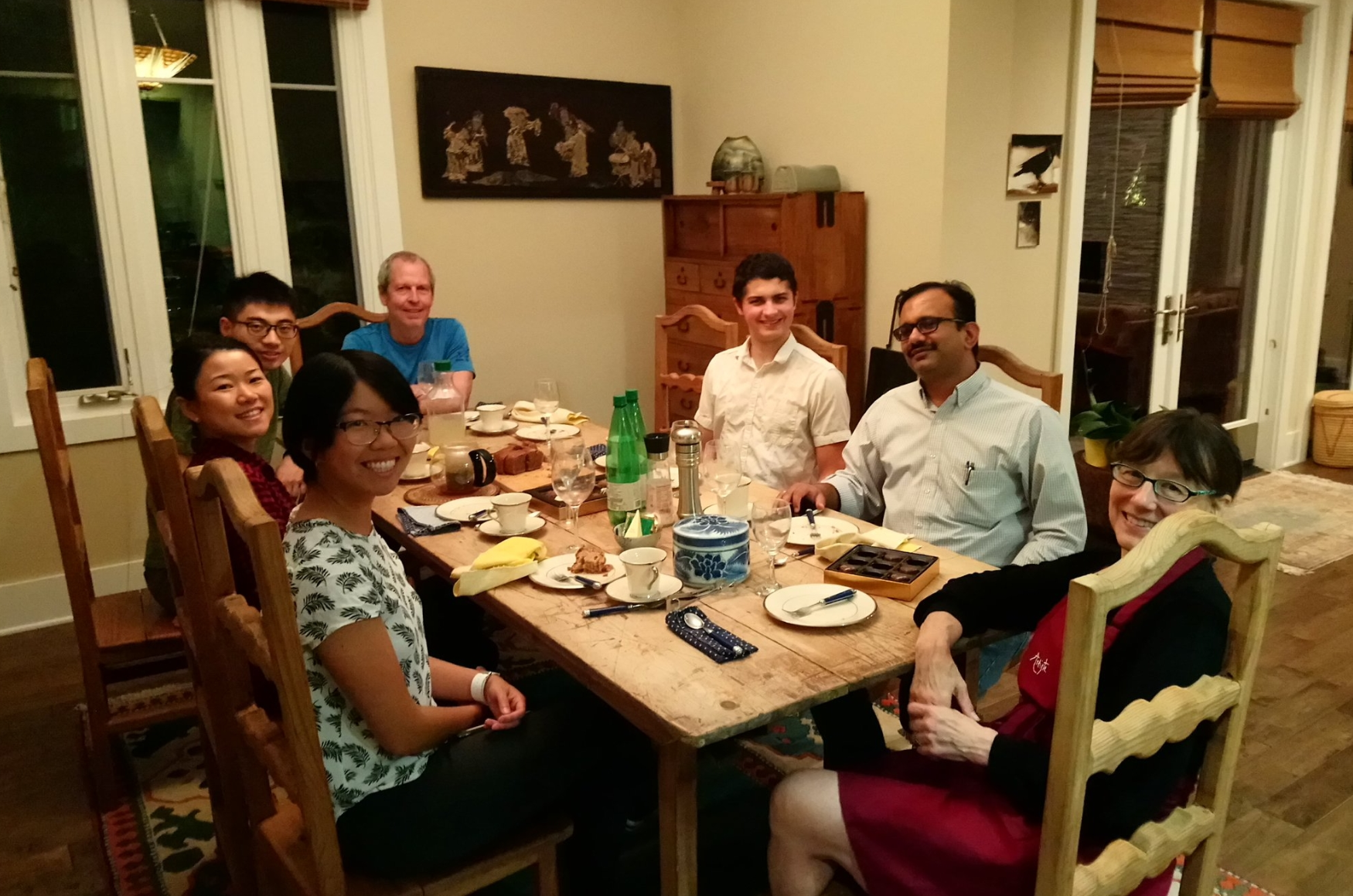 Dr. Marie Csete (PhD '00) hosted Caltech students for a lovely evening of mingling, networking, and great conversations on October 10, 2017.