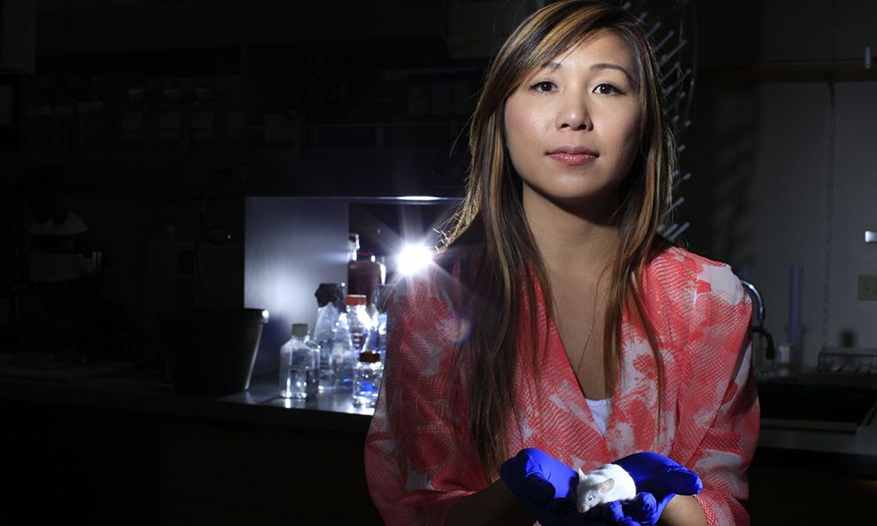 Elaine Hsiao (PhD '13) Selected as National Geographic Emerging Explorer