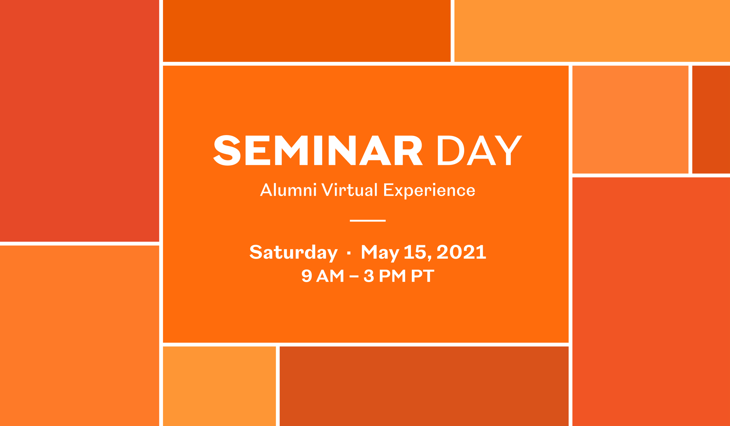Watch Seminar Day 2021 Recordings