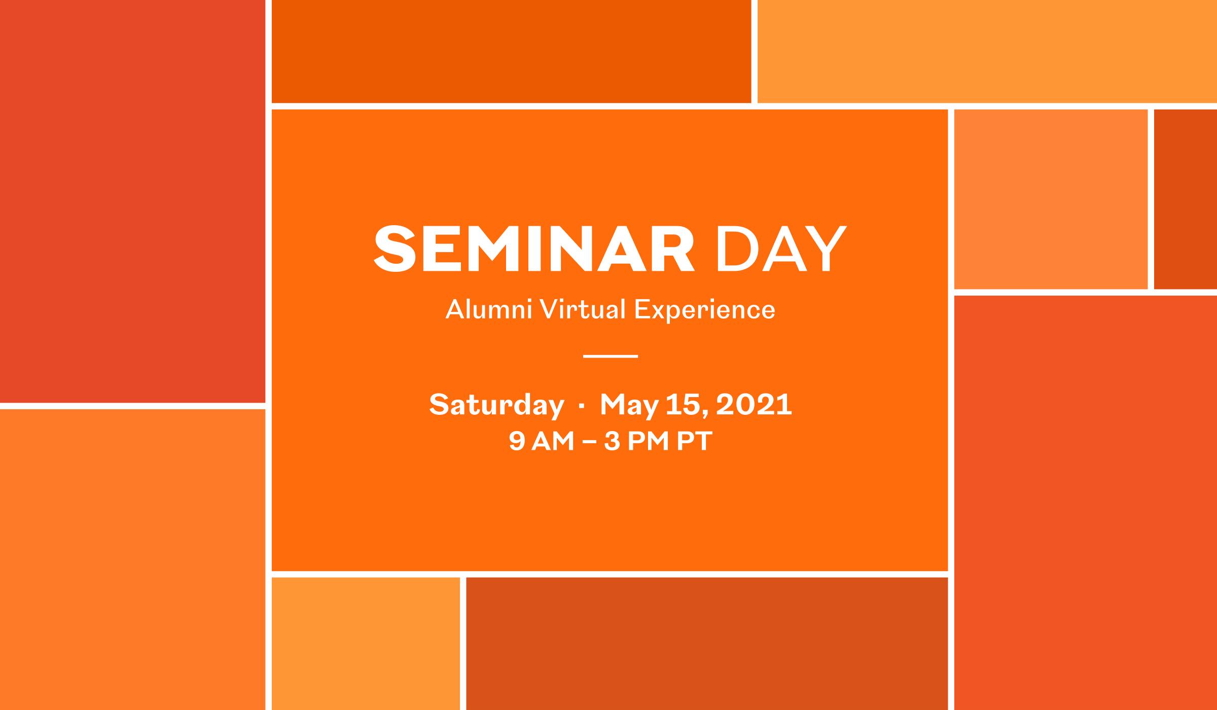 Register Now for Seminar Day 2021