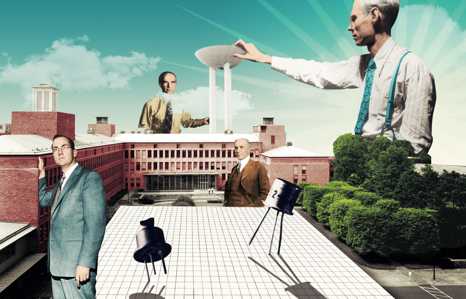 Caltech and the Factory of Ideas