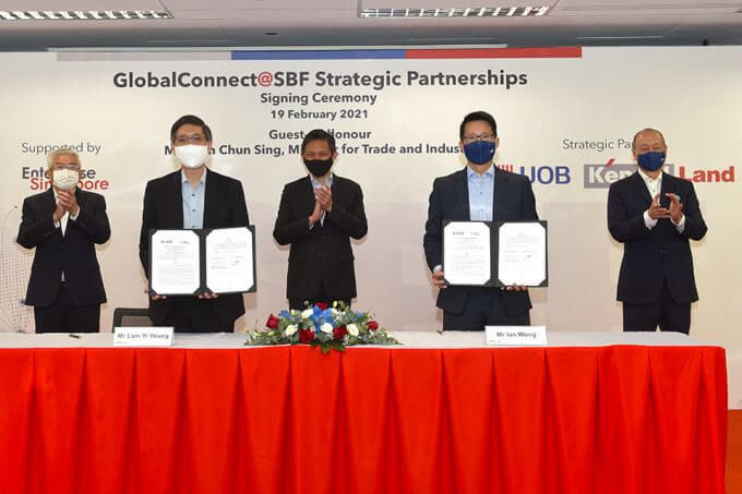 'Team Singapore' partnerships a key route for internationalisation