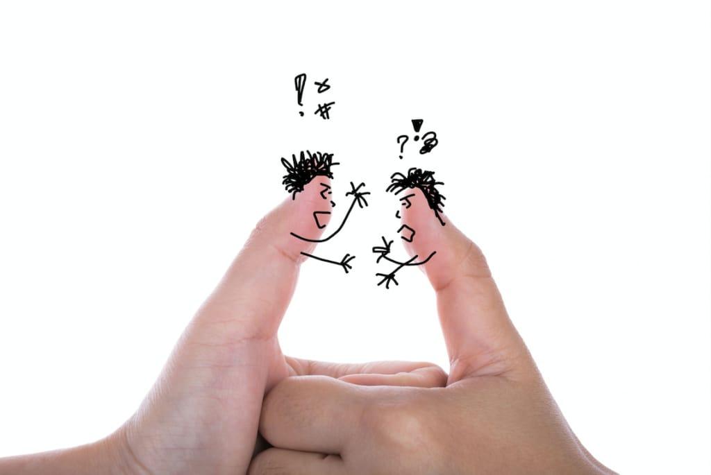 Como lidar com uma conversa abusiva?