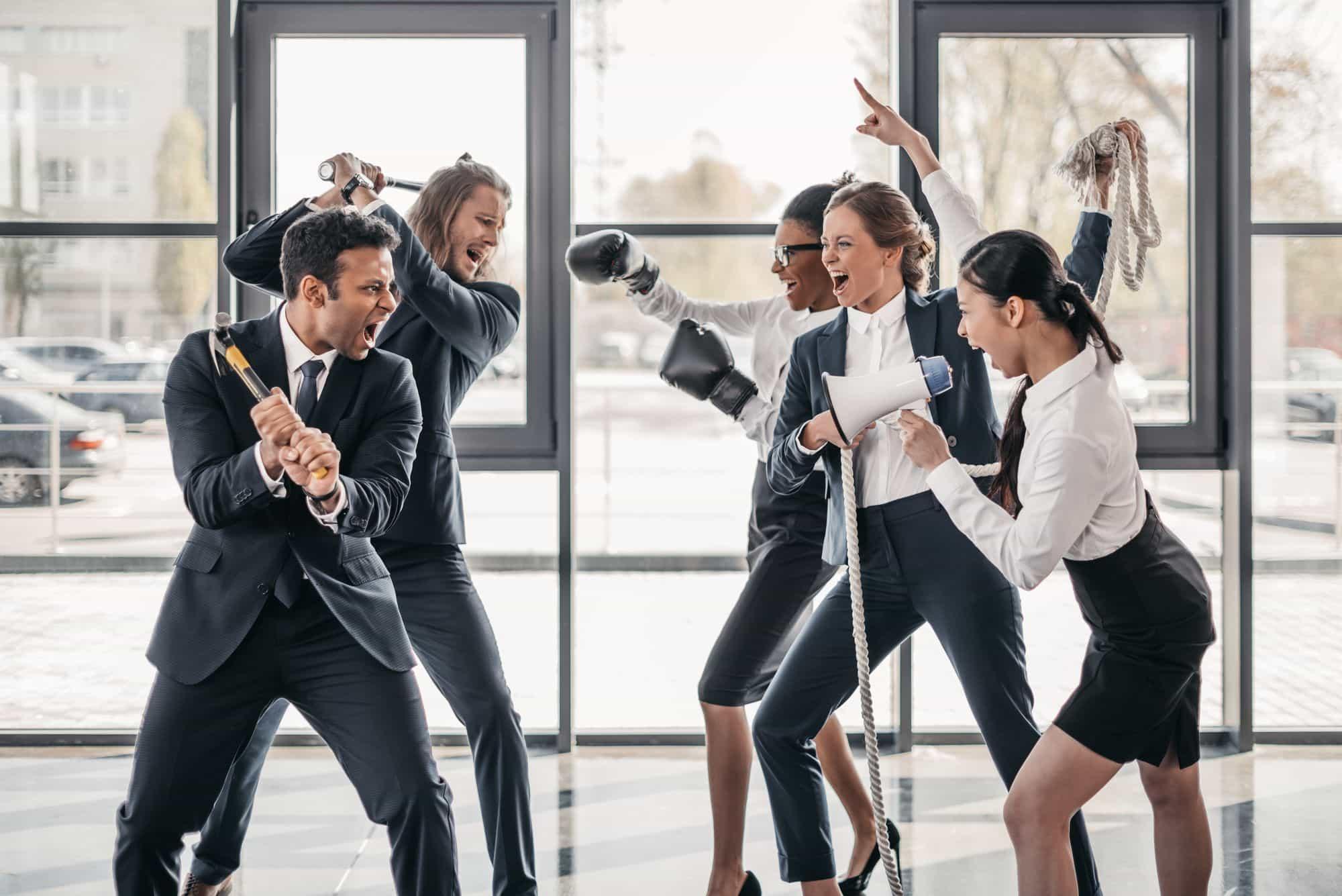 Conheça os principais Conflitos Empresariais e suas consequências