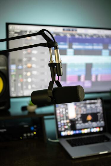 music recording setup