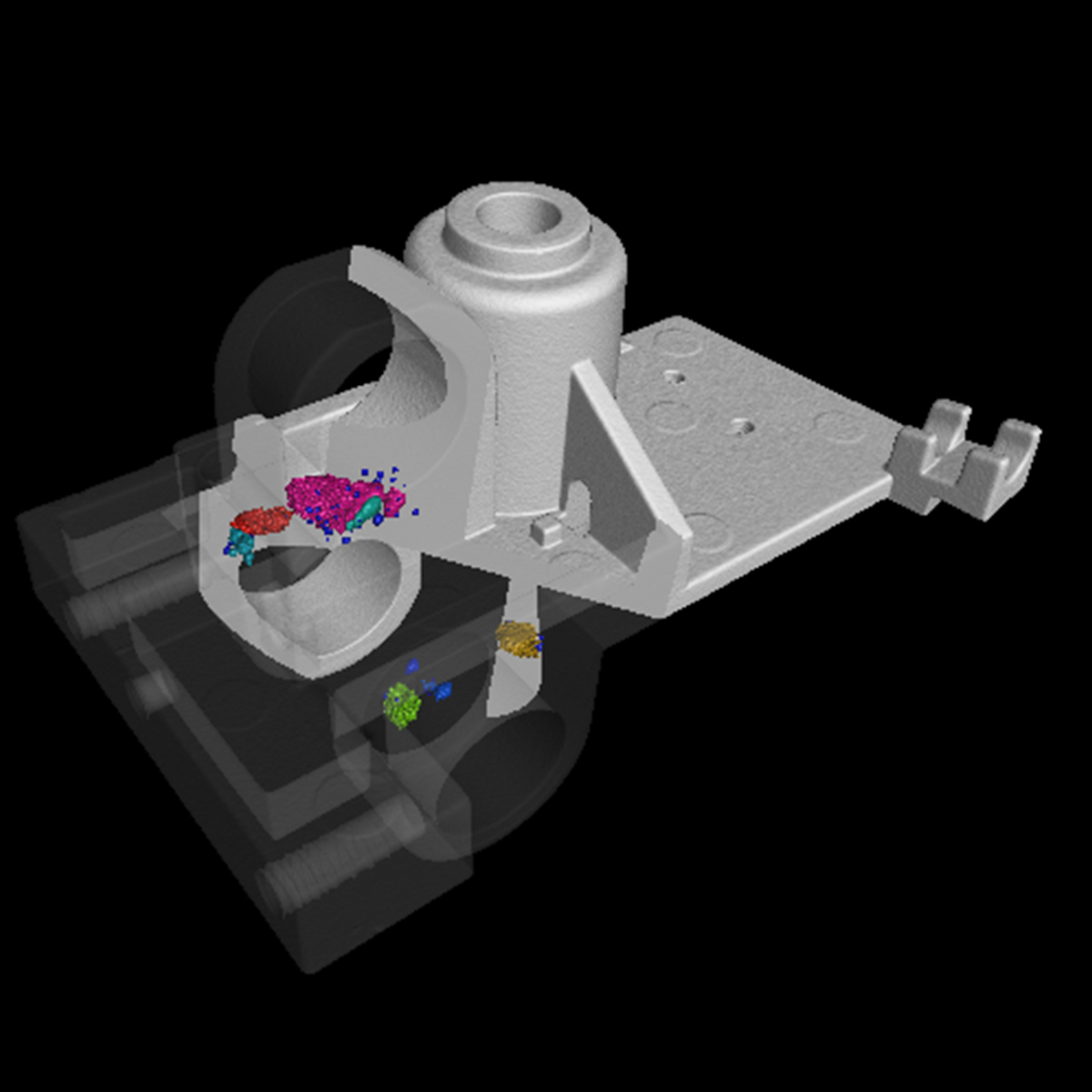 Industrial CT scanning services allows analysis of hidden elements
