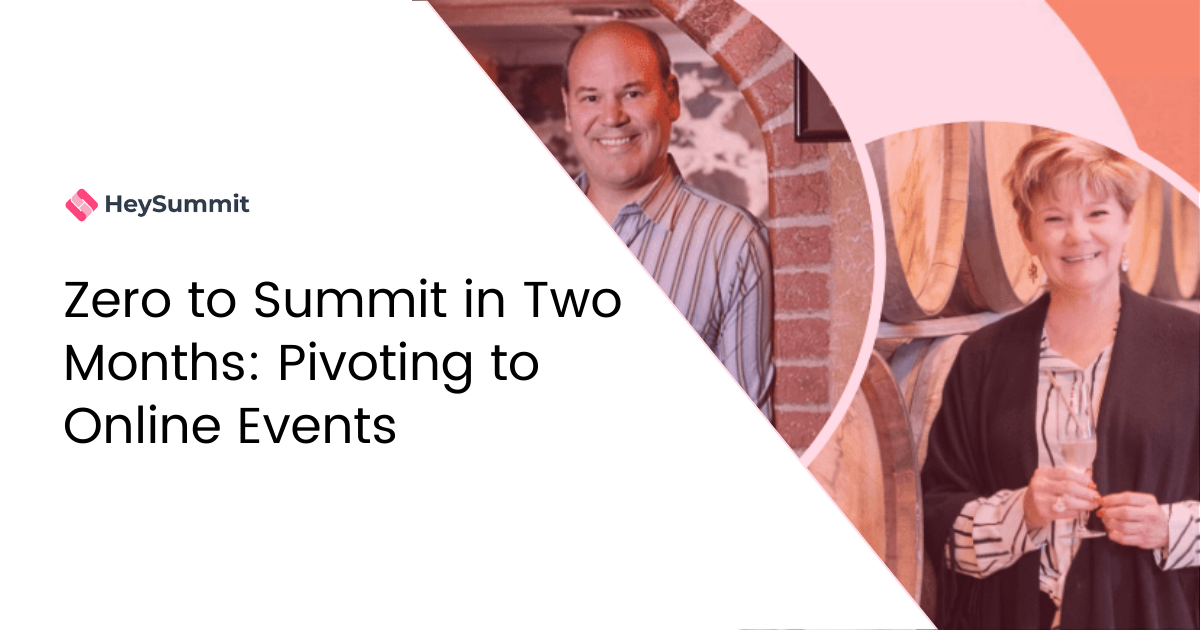 Zero to Summit in Two Months: Pivoting to Online Events