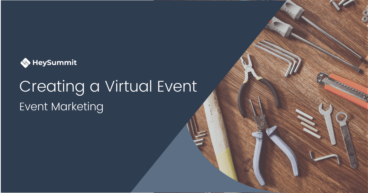 How to create a virtual event