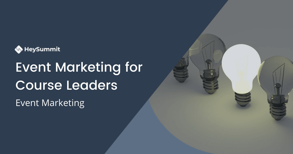 Event Marketing for Course Leaders
