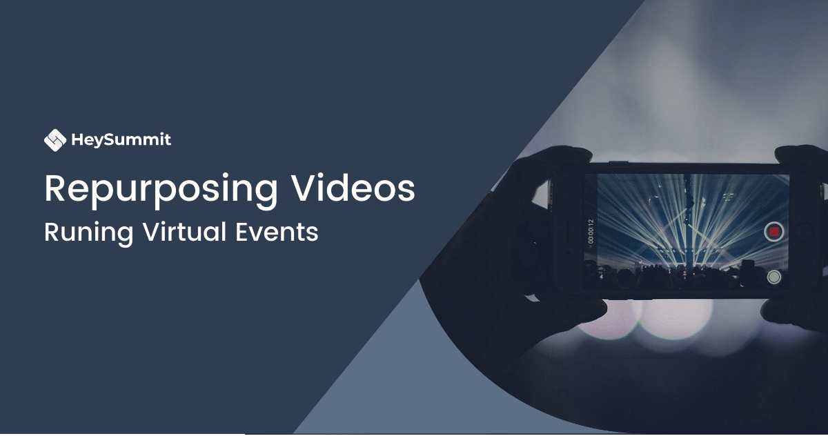 How to Repurpose Your Virtual Event Sessions as Video Content