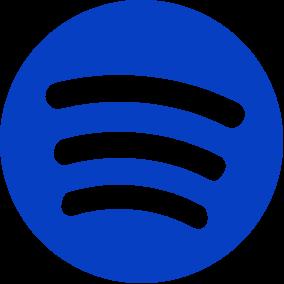 Spotify logo til Øresound Festival - blå