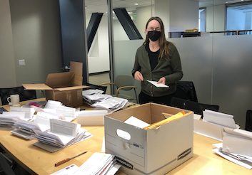 We received thousands of petitions in the mail.