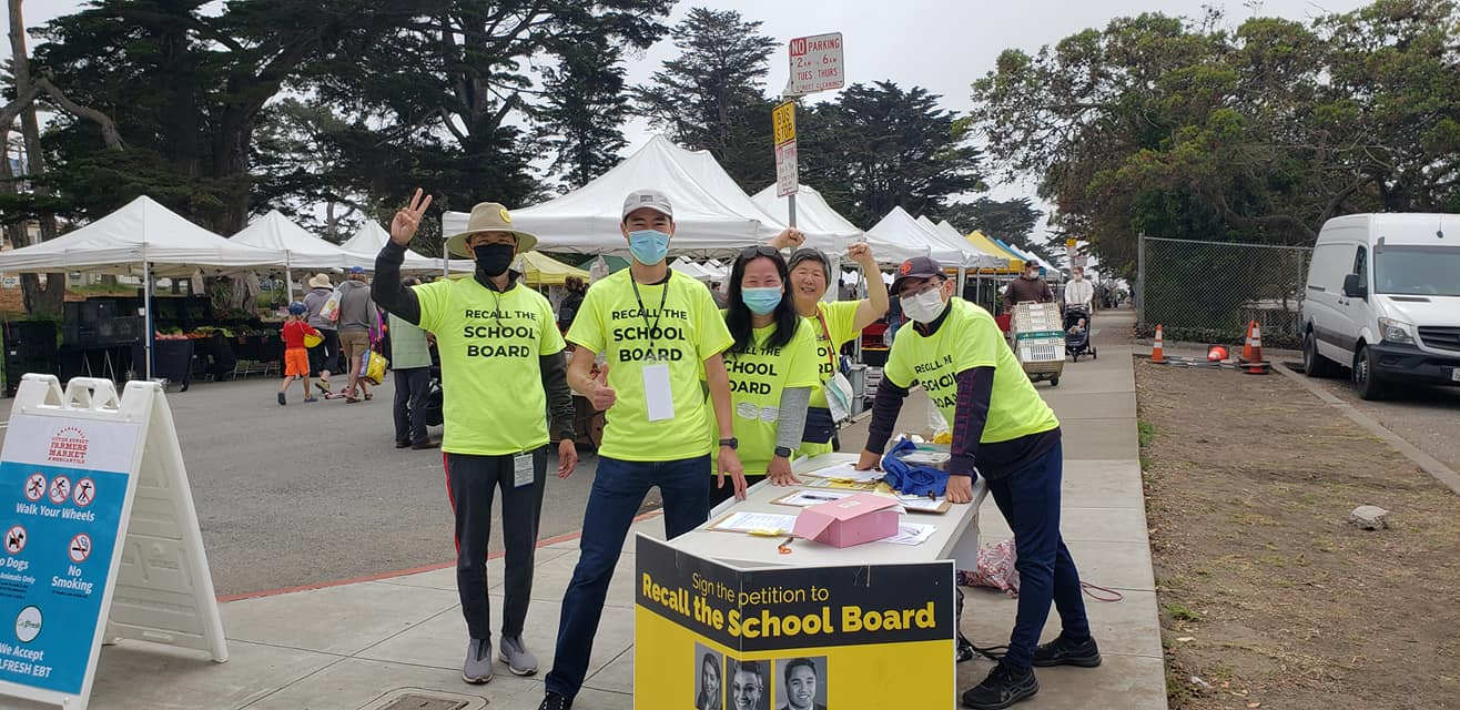 The Outer Sunset farmers' market team