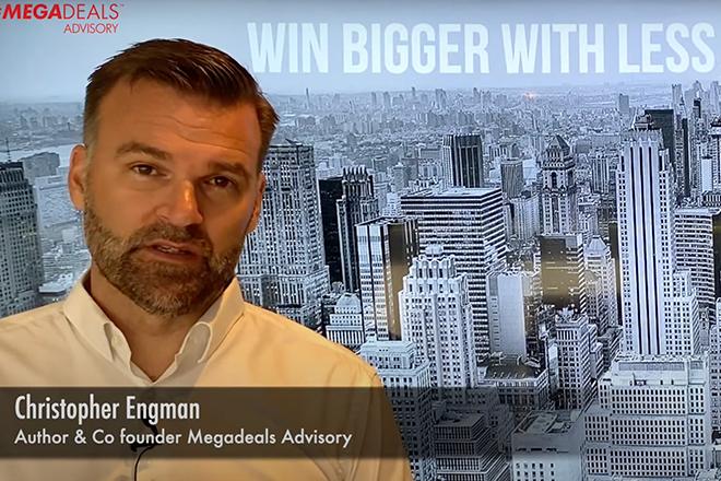 A thumbnail for the video explaining the Megadeals Advisory fundamental messaging.