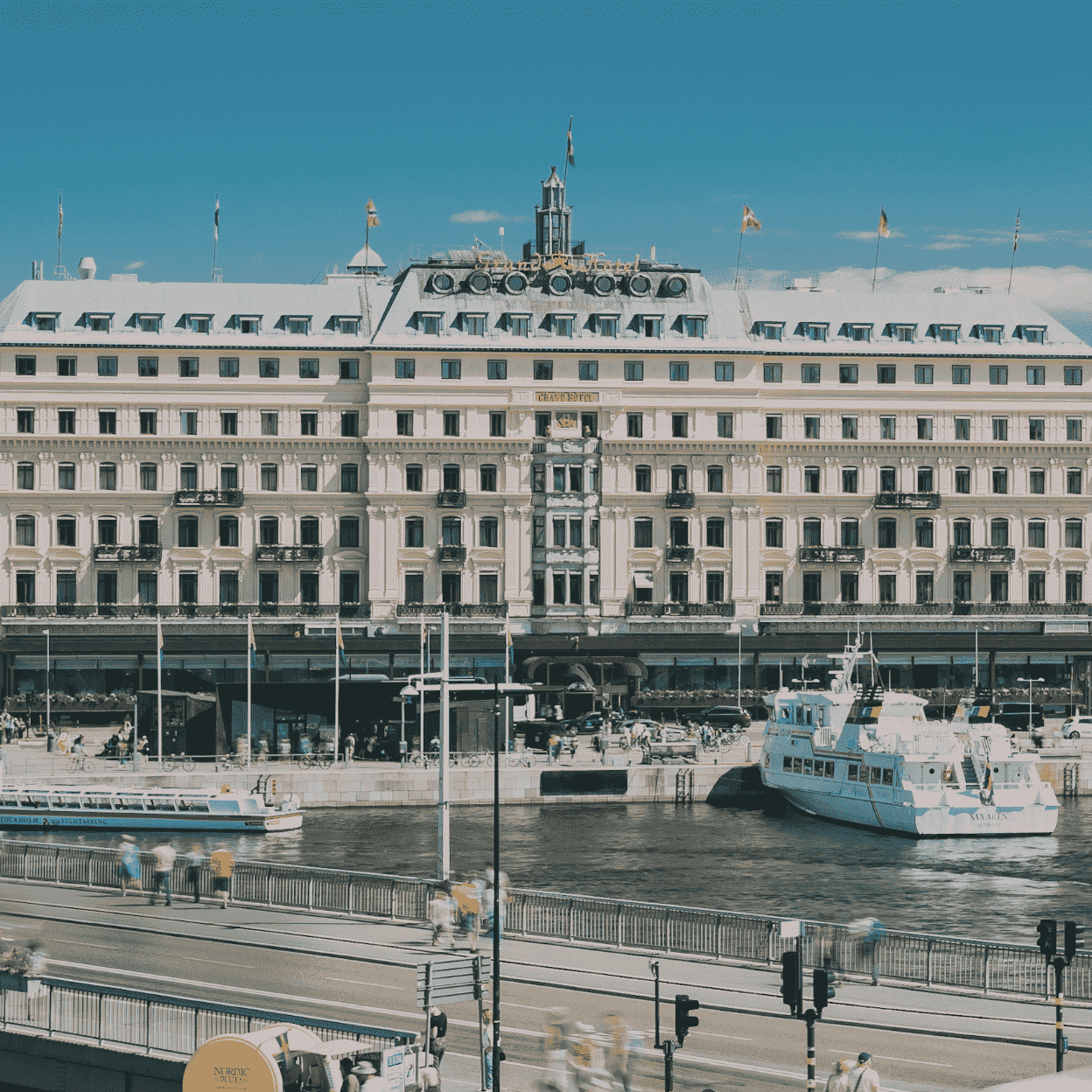 Picture of Grand hotel, where the workshops are performed