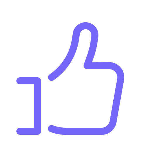 This is a little thumbs up icon