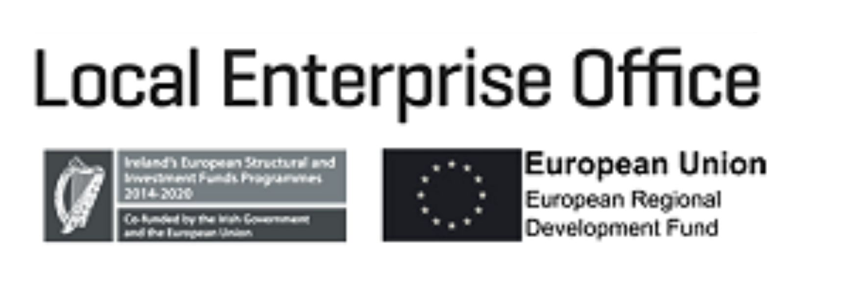 This is the Local Enterprise Office logo.