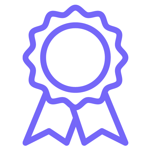 This is a little award icon