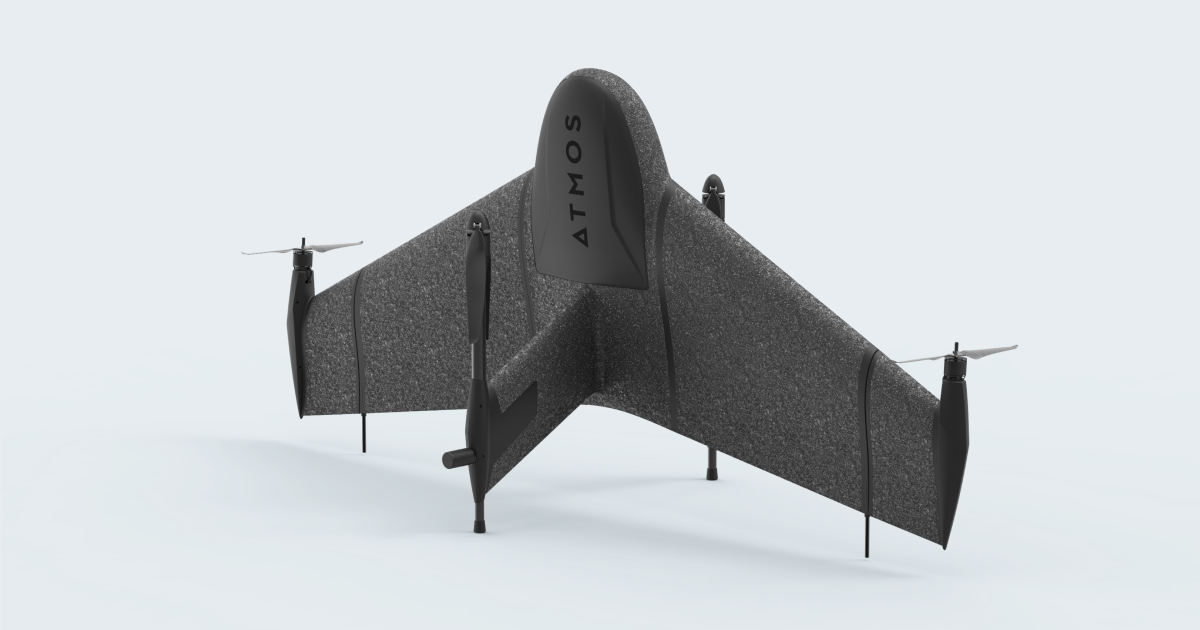 New Marlyn VTOL Mapping Drone