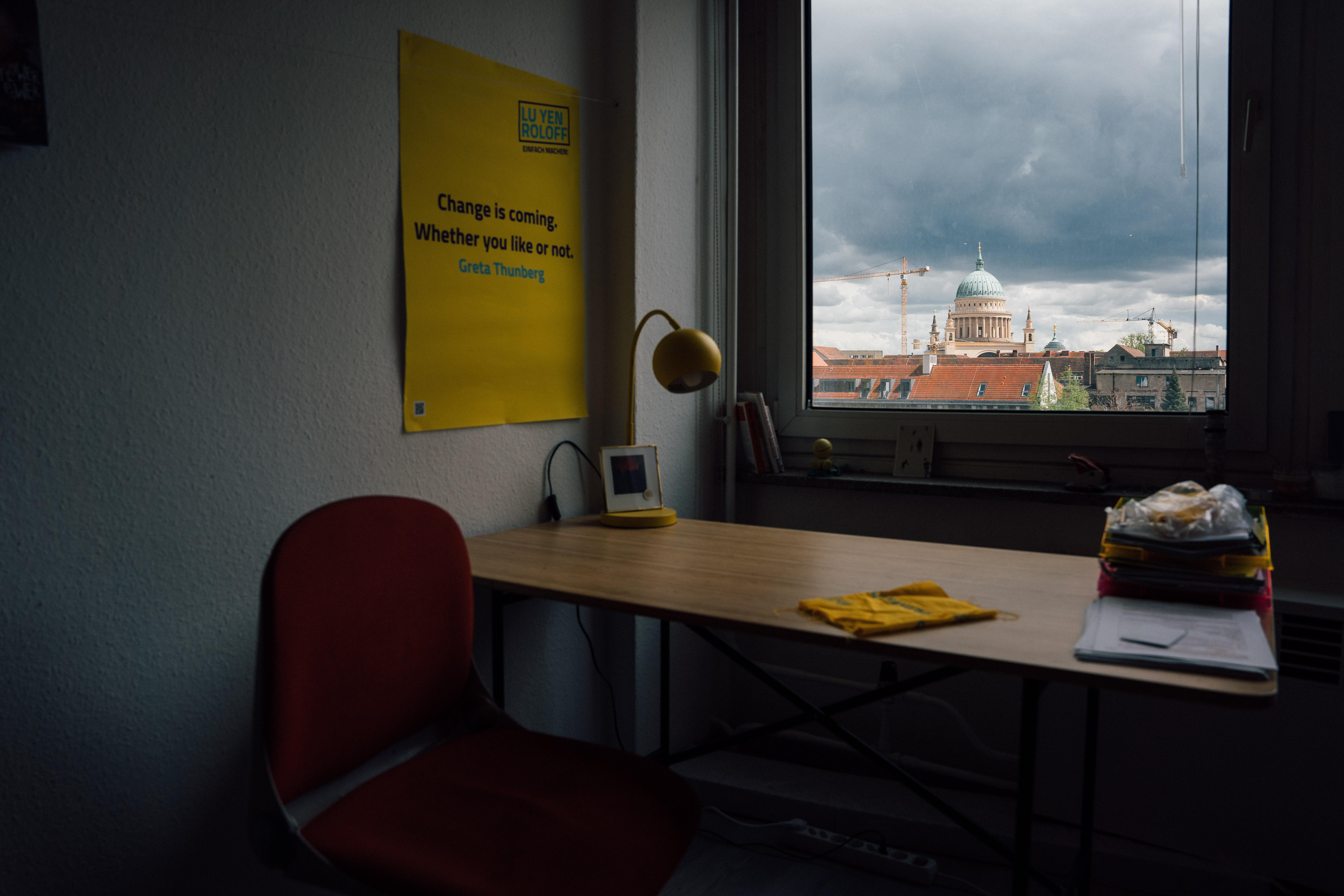 Die St. Nikolaikirche überragt sichtbar die ganze Stadt: Lu Yen zog nach vielen Besuchen in Potsdam im Sommer 2020 in ihre neue Wahlheimat.