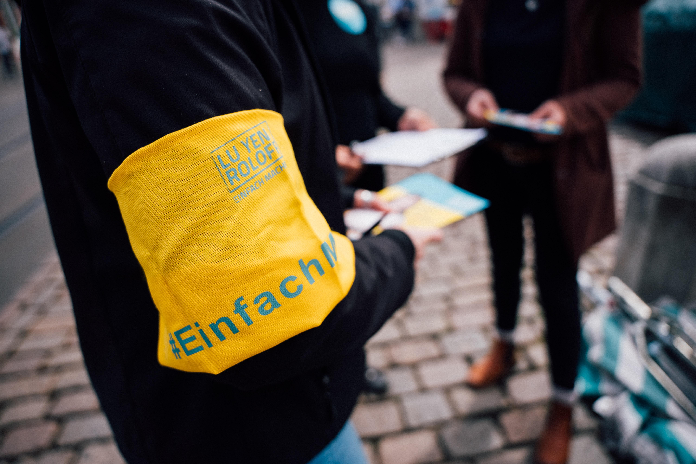 Mit der Plattform #einfachmachen will sie andere Menschen dabei unterstützen, ihre Ideen in die Welt zu tragen.