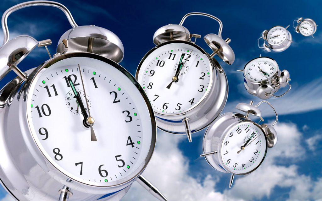 clocks time