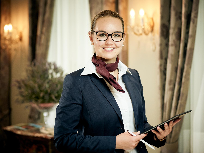 Lisa Lauener, Chefin de Reception Belvedere Strandhotel